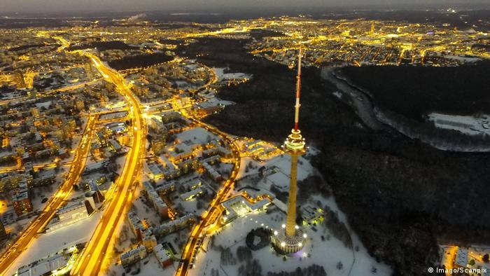 Столица Литвы Вильнюс