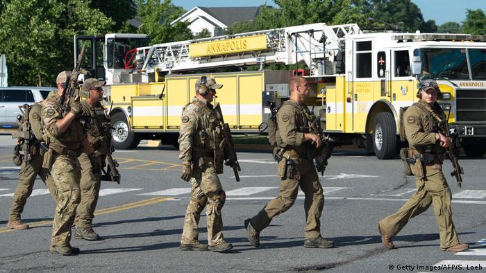 USA Maryland - Schießerei in einer Zeitungsredaktion in Annapolis - Mehrere Tote