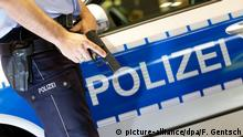Police - Stock photo (picture-alliance/dpa/F. Gentsch)