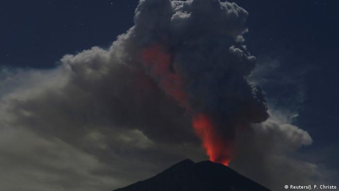 Bali Volcano Eruption Forces Closure Of International Airport
