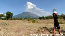 Vulkanausbruch auf Bali