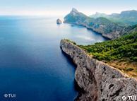 Cap Formentor en Mallorca