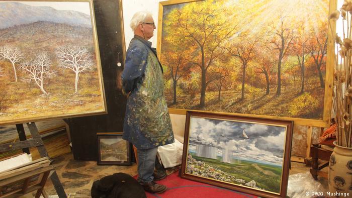 Sambia Quinton Allen, Künstler