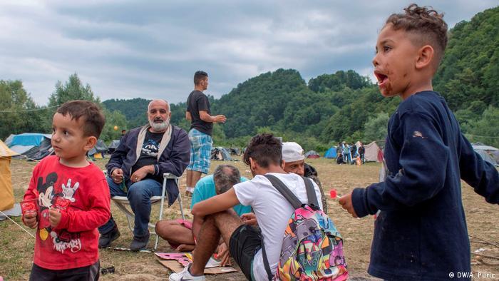 Izbjeglička obitelj
