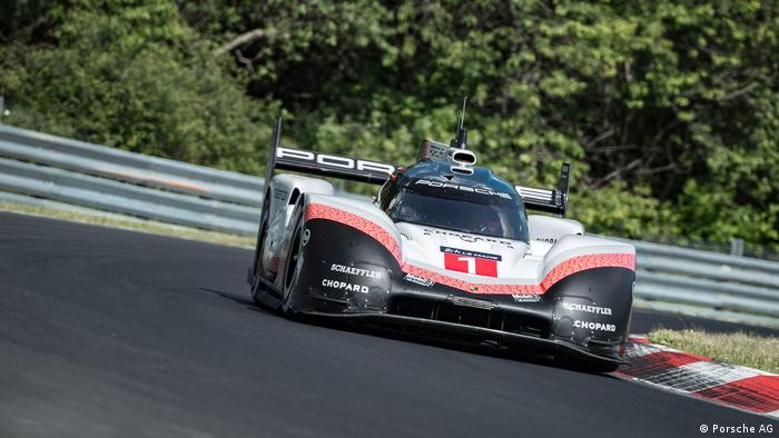 Porsche 919 Evo Setting A New Record In Nürburgring Timo Bernhard Driving Ag