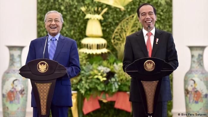 Indonesien Staatsbesuch von Mahathir Mohamad, Premierminister Malaysia (Biro Pers Setpres)