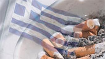 Symbolbild Rauchverbot Griechenland