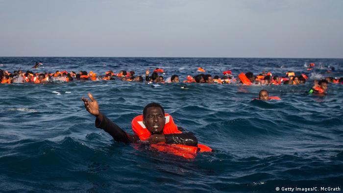 1400 sığınmacı boğularak öldü