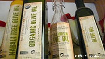 Fair Trade Olivenöl PFTA in Jenin Westjordanland Mahmoud Issa