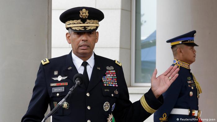 Südkorea US-Streitkräfte eröffnen neues Militärhauptquartier (Reuters/Ahn Young-joon)