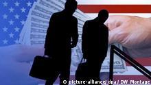 Symbolbild USA Manager Gehalt Diskussion