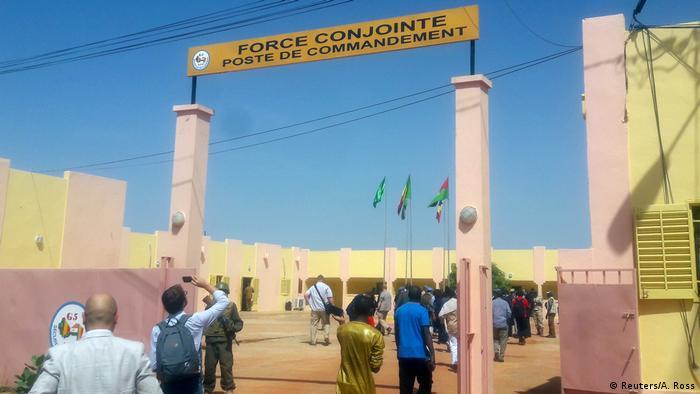 Mali, Sevare: G5 Sahel force's Militärstützpunkt / Symbolbild