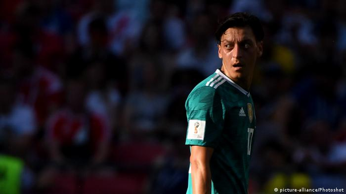 Mesut Özil reacts during the World Cup Match between Germany and South  Korea on June 27 5ceeade48