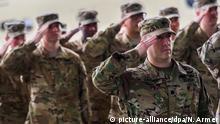Deutschland US-Army: Übergabe der Hubschrauberstaffeln in Illesheim