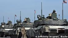 US-Soldaten bei Mannöver in Deutschland