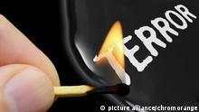 Symbolbild Terror Extremismus