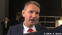 AfD Parteitag in Augsburg Jörg Meuthen Björn Höcke