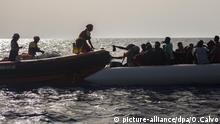 Migranten vor Küsten Libyens gerettet