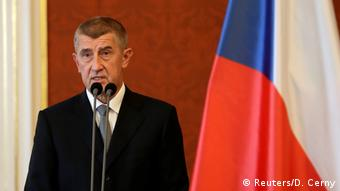Tschechien Andrej Babis (Reuters/D. Cerny)