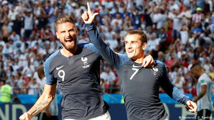 FIFA Fußball-WM 2018 in Russland | Achtelfinale | Frankreich vs. Argentinien | TOR Frankreich (Reuters/C.G. Rawlins)