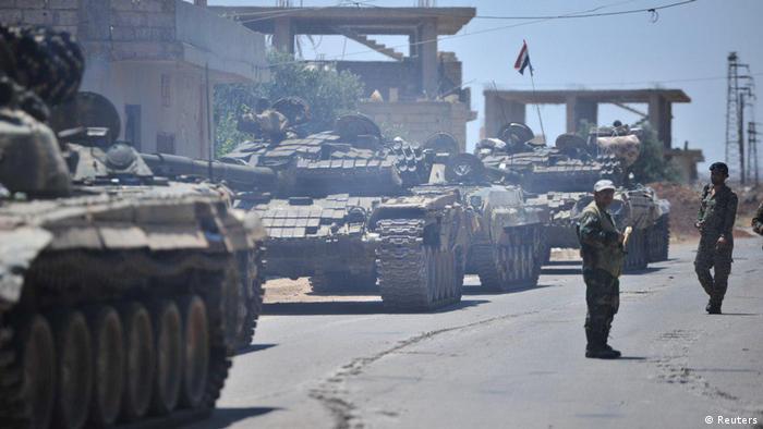 Syrien, Konflikt, Daraa (Reuters)