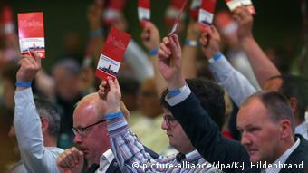 Ψηφοφορία κατά το συνέδριο του AfD