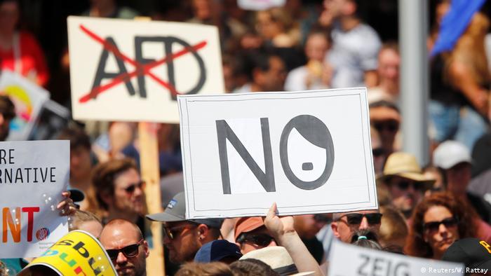 Anti-AfD Protest Augsburg