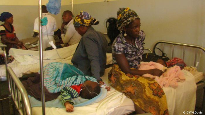 Serviços de maternidade do hospital provincial de Lichinga.