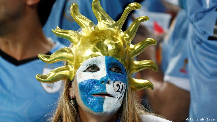 FIFA Fußball-WM 2018 | Achtelfinale | Uruguay vs. Portugal (Reuters/M. Sezer)