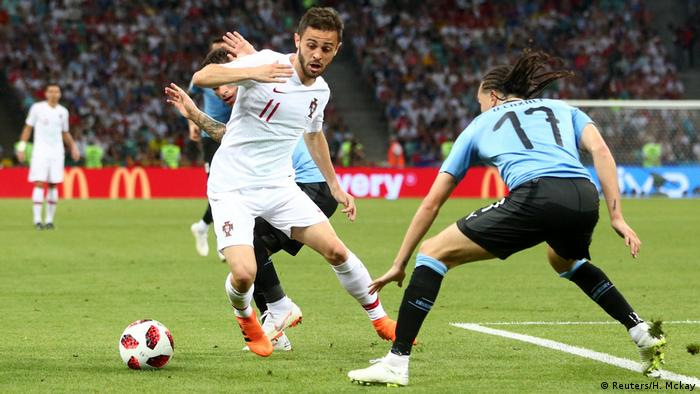 FIFA Fußball-WM 2018 | Achtelfinale | Uruguay vs. Portugal