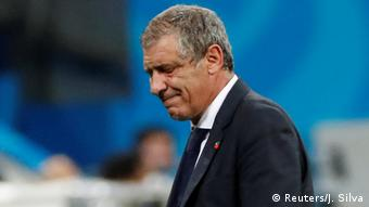 FIFA Fußball-WM 2018 | Achtelfinale | Uruguay vs. Portugal | Fernando Santos
