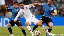 FIFA Fußball-WM 2018   Achtelfinale   Uruguay vs. Portugal   Cristiano Ronaldo