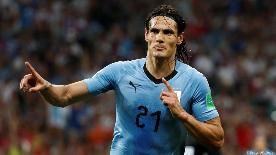 FIFA Fußball-WM 2018 | Achtelfinale | Uruguay vs. Portugal | 2. TOR Uruguay