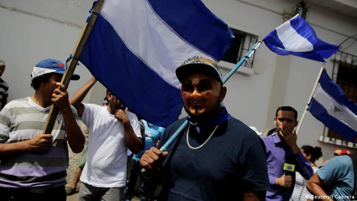 Protest in Nicaragua (Reuters/J.Cabrera)