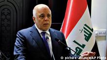 Irak | Premierminister Haider al-Abadi (picture-alliance/AP Photo)