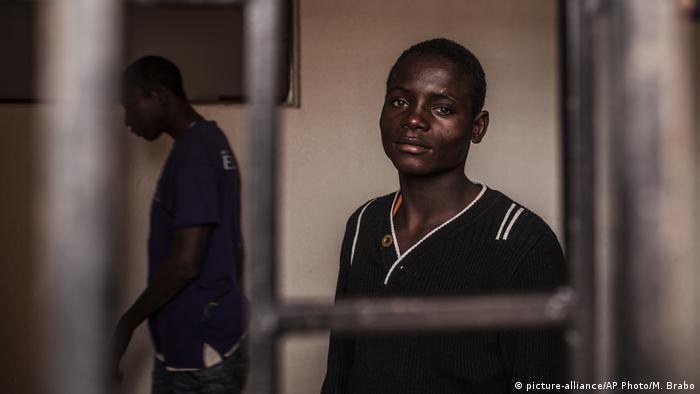 Libyen Internierungslager für Flüchtlinge