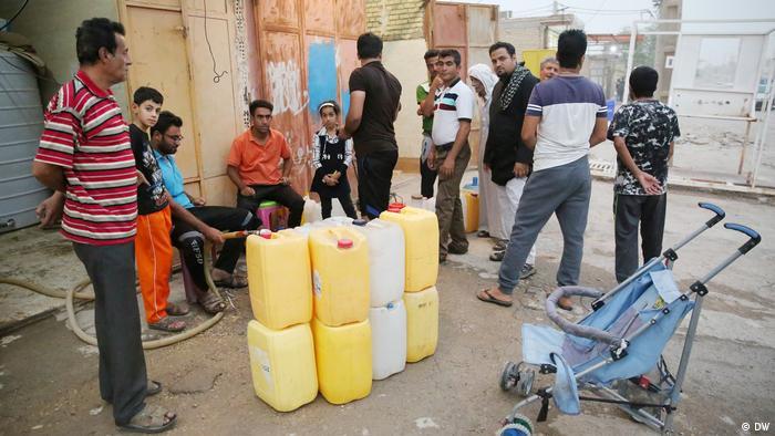 Iran - Wasserknappheit in Khorramshahr