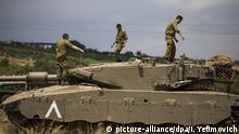 Israelische Truppen auf den Golanhöhen