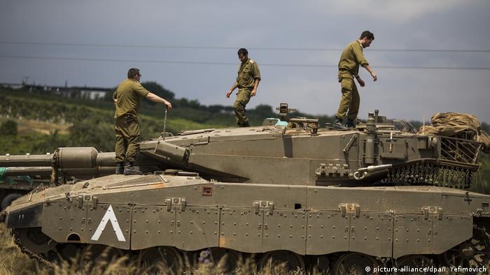 Ізраїльські військові на Голанських висотах