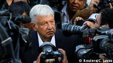 Mexiko Präsidentschaftswahl Kandidat Andres Manuel Lopez Obrador