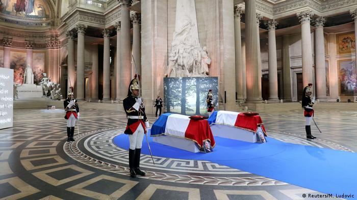 Frankreich Paris Bestattung von Simone Veil