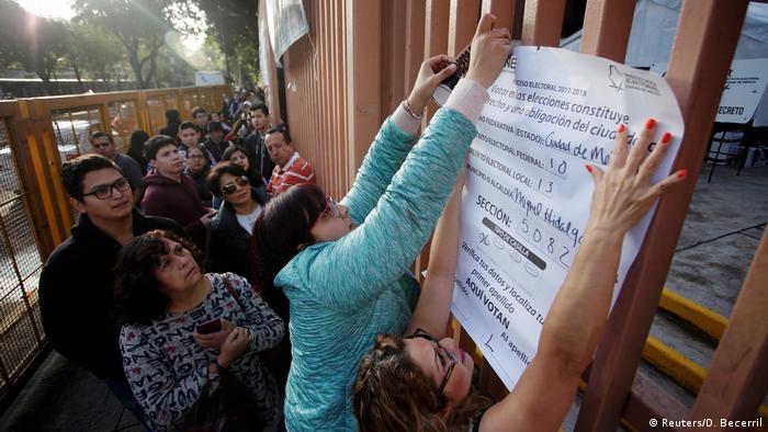 Mexiko Präsidentschaftswahl (Reuters/D. Becerril)