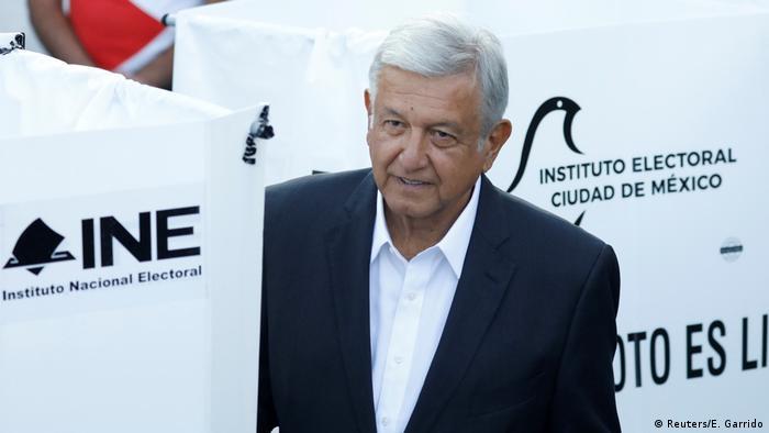 Mexiko Präsidentschaftswahl Kandidat Andres Manuel Lopez Obrador (Reuters/E. Garrido)