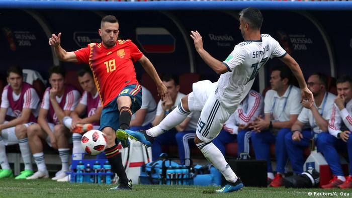 Fußball WM 2018 Spanien vs Russland (Reuters/A. Gea)