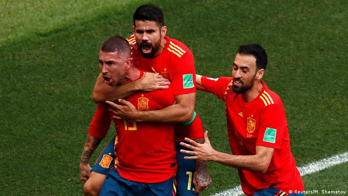 Fußball WM 2018 Spanien vs Russland (Reuters/M. Shemetov)