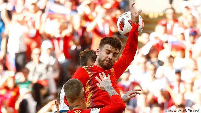 Fußball WM 2018 Spanien vs Russland (Reuters/K. Pfaffenbach)