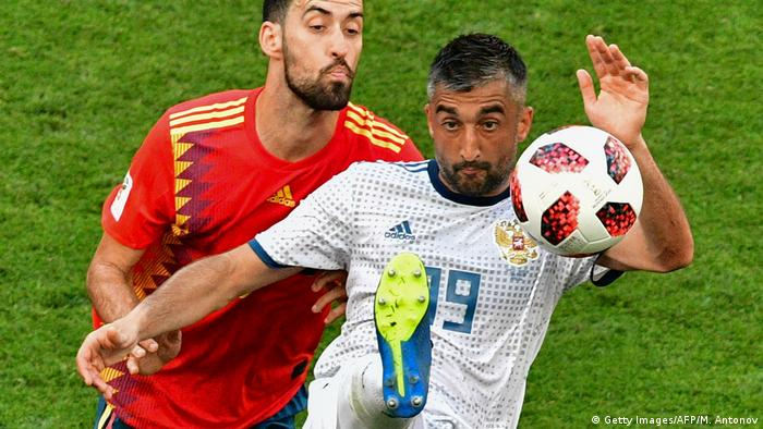 Fußball WM 2018 Spanien vs Russland (Getty Images/AFP/M. Antonov)