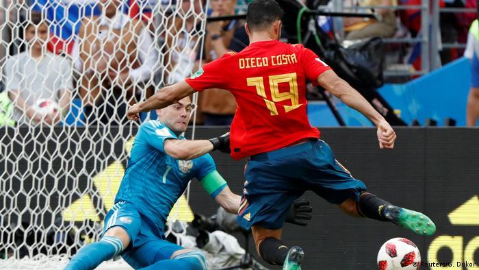 Fußball WM 2018 Spanien vs Russland (Reuters/G. Dukor)