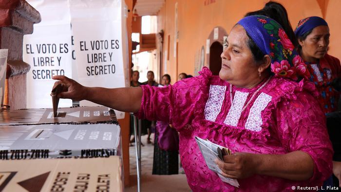 Elección presidencial en México