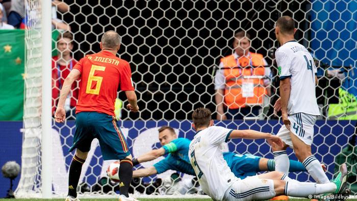 Fußball WM 2018 Spanien vs Russland (Imago/Bildbyran)